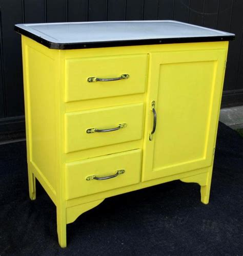 Vintage Enamel Top Kitchen Cabinet A Vintage Enamel Top Kitchen Cabinet Kitchen