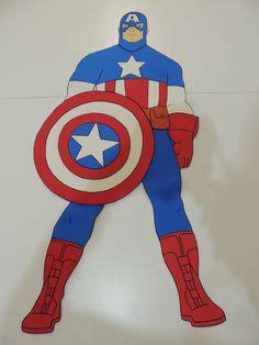 imagenes brochet de los vengadores en goma eva superman hulk ironman capit 225 n am 233 rica decoraci 243 n
