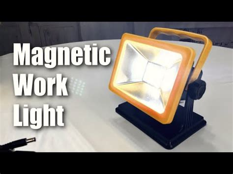 rechargeable led work light with magnetic base california auto tech ct3515 rechargeable work light by