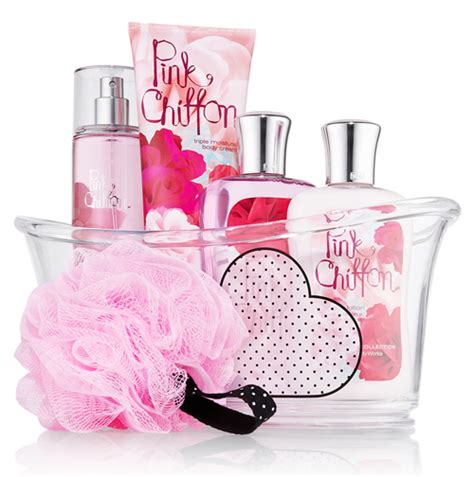 Bath And Works Pink Chiffon 226 G pink chiffon bath and works perfume a fragrance for 2012
