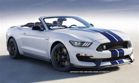 ford mustang shelby gt350 convertible looks great