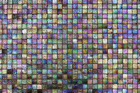 colorful tile colorful tiles on kitchen backsplash photograph by