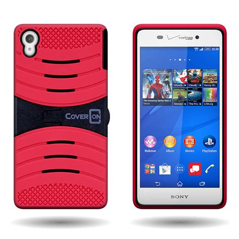 Xperia X Rugged Armor Soft Cover Casing Kickstand Xphase H 1 for sony xperia z3 rugged hybrid with kickstand rugged armor cover ebay