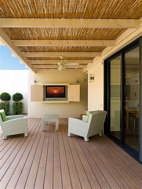 Bamboo Patio Cover Pin By Lisa Brown On Ideas I Love Pinterest