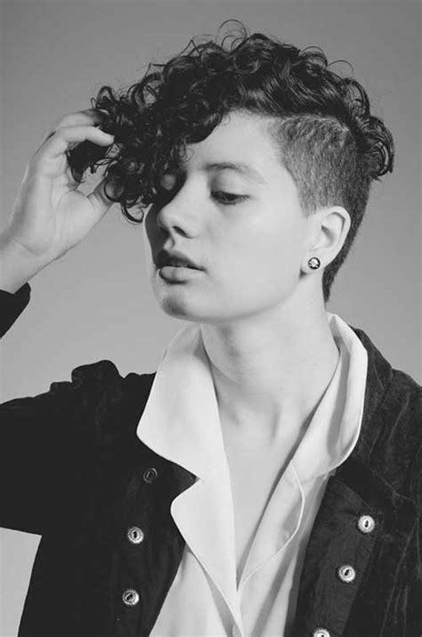 curly hairstyles with short sides 20 curly asymmetrical pixie hairstyles short hairstyles