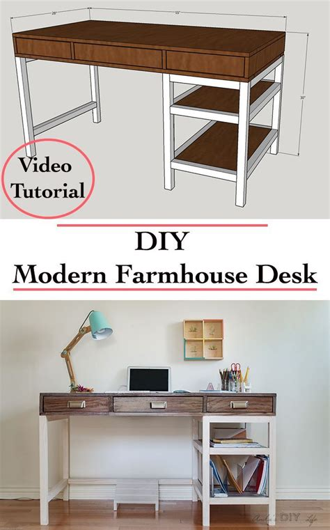 Diy Modern Desk Best 25 Diy Desk Ideas On Desk Ideas Diy Office Desk And Craft Tables