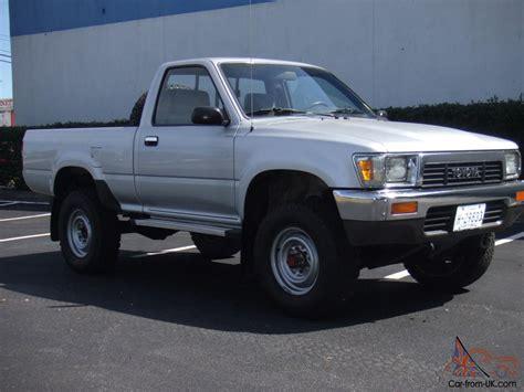 Toyota Truck 4x4 1989 Toyota 4x4 Bed