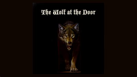 Wolf At The Door by Wolf Door Wolf Door Knocker