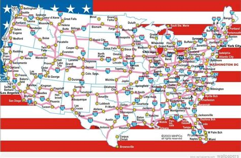 printable road maps of the us us map states with highways image collections diagram