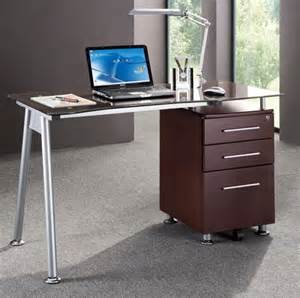 china modern design office computer table with drawers