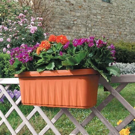 fioriere terracotta fioriera balcone balconiera 50 cm in plastica regolabile