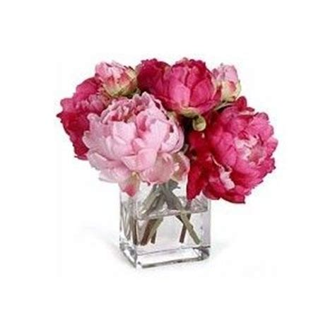 Flowers In Square Vase by Flowers Pink Flowers Square Vase Peonies Like This