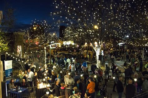 oak ranch plaza christmas lights downtown lighting ceremony illuminates town for the holidays the rocky mountain collegian