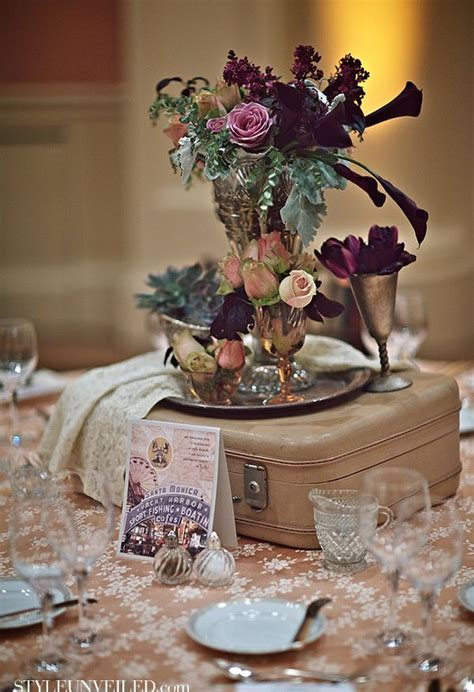 themed wedding centerpieces 25 best ideas about travel centerpieces on