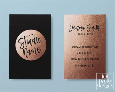 Makeup Artist Business Cards Etsy