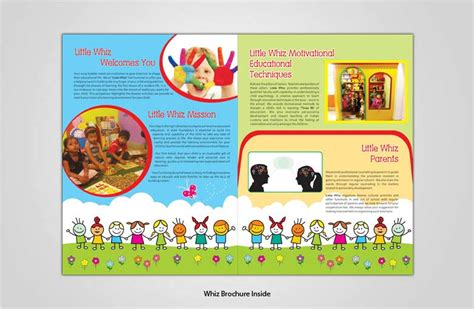 play school brochure templates brochure design in noida delhi india corporate brochure