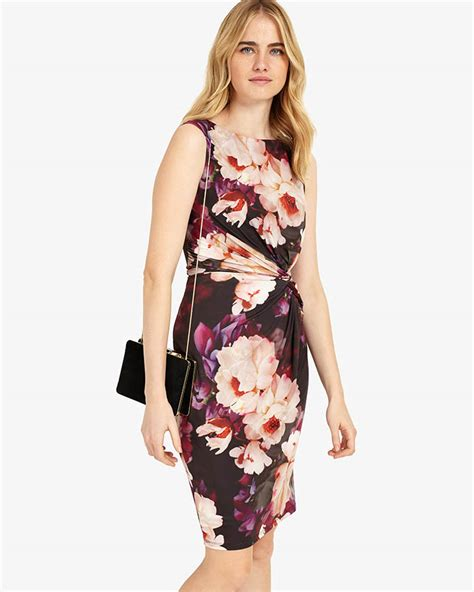 Flower Dress Sale2302 phase eight floral dress multi coloured 95 polyester