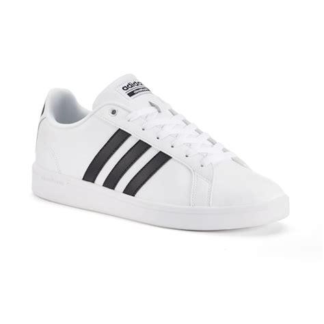 Adidas Neo Advantage White Stripes adidas neo cloudfoam advantage stripe s shoes