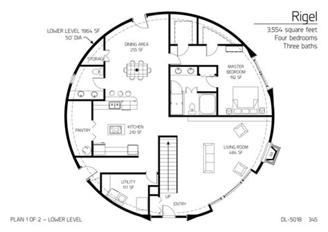 dome home floor plans floor plan dl 5018 monolithic