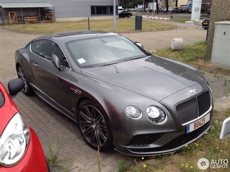 black bentley 2016 bentley continental gt speed 2016 24 july 2015 autogespot