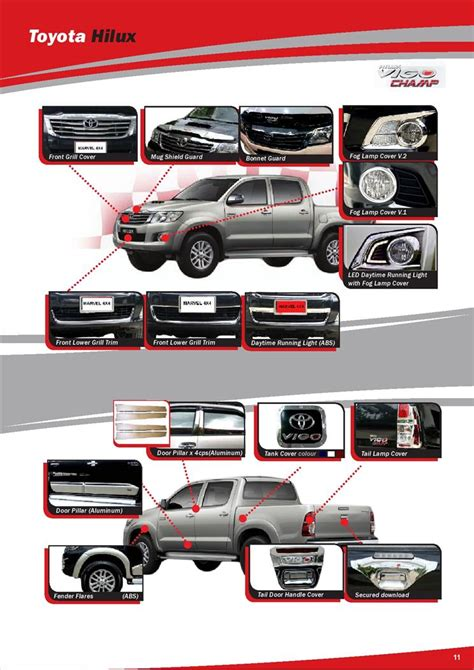 Toyota Part And Accessories Toyota Hilux Vigo Accessories End 4 16 2015 2 25 Pm Myt