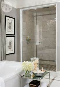Grey Bathroom Designs Grey Bathroom Interior Design Ideas Marble Tile Shower Backsplash Mangobl 252 Te