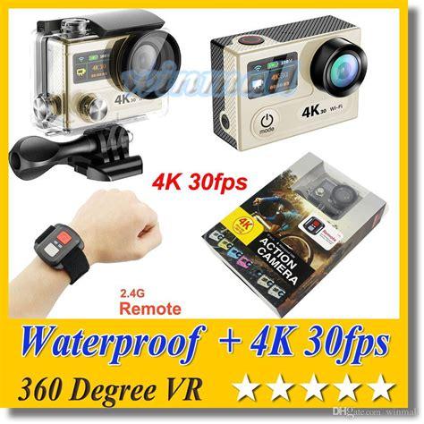 Waterproof Original For Eken H8 H8r H8r Pro original eken h8r ultra hd 4k 30fps remote 2 inch 0 95 screen 360