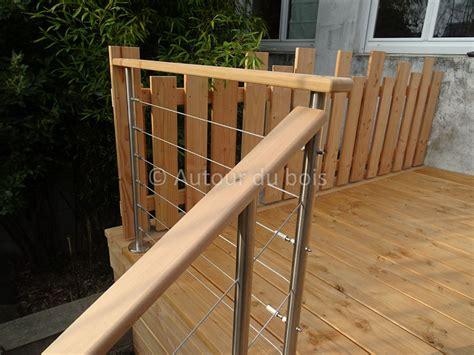 garde corp bois pour terrasse 2756 balustrade pour terrasse obasinc