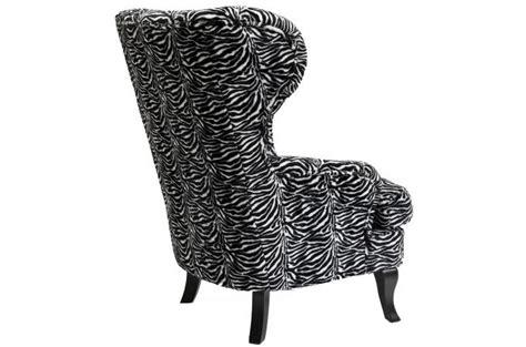 fauteuil zebre pas cher fauteuil 224 oreilles kare design zebra fauteuil design pas cher