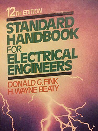 Standard Handbook For Electrical Engineers d sdeals on marketplace sellerratings