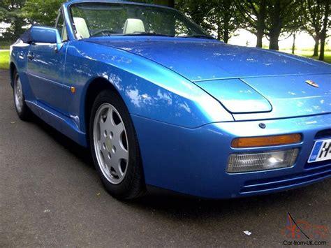 porsche 944 blue 1990 porsche 944 s2 cabrio stunning metailc blue