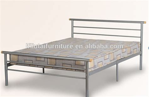 essentials silver metal bed frame 3ft single