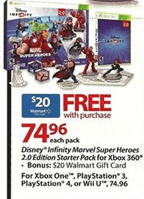 Marvel Heroes Gift Card - walmart sales for disney infinity 12 14 12 20 infinity inquirer