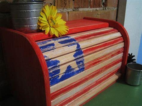 americana rolltop bread box kitchen decor color wheels