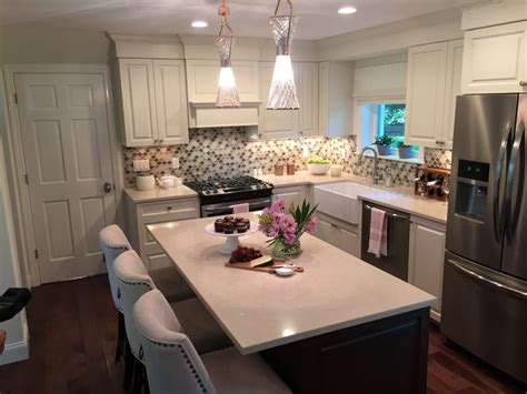 Property Brothers Kitchen with cabinet hardware by Emtek