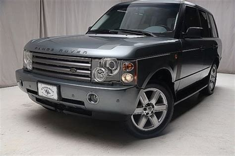 land rover financing new bedford buy used we finance 2003 land rover range rover hse 4wd