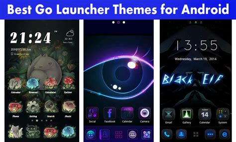 best nova launcher themes top 10 tricks by stg best go launcher themes for android