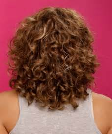 photos of mid lengh permed hair short to medium length hairstyles for curly hair