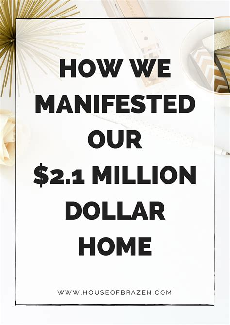 how to buy a 2 million dollar house how we manifested our 2 1 million dollar home house of