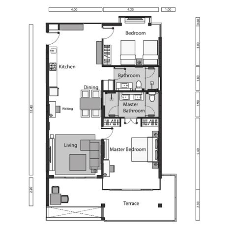 2 bedroom unit floor plans 2 bedroom unit absolute twin sands resort spa