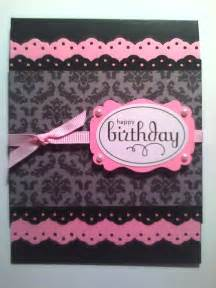 sistochris scrapbooking and paper crafts handmade sted greeting card feminine birthday