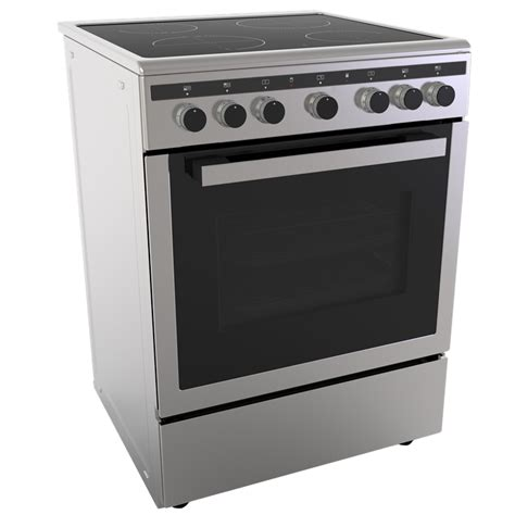What Is A Ceramic Stove Top by Everdure 600mm Stainless Steel Freestanding Ceramic Top Stove