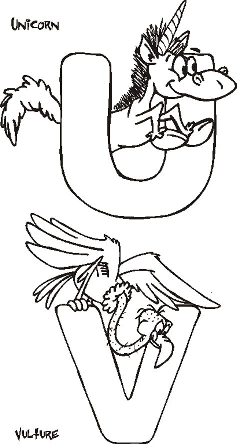 coloring pages letter u animals coloring pages for animal alphabet coloring pages
