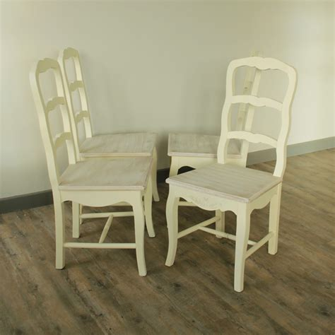set of 4 country style dining chairs farmhouse style