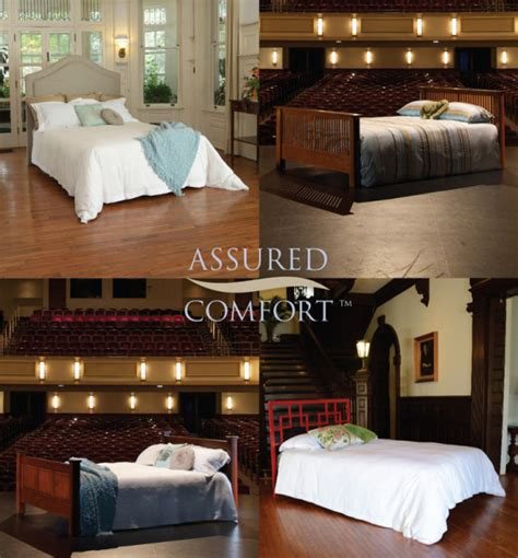 assured comfort assured comfort adjustable bed with metal headboard