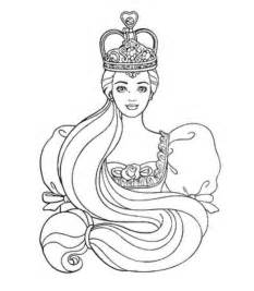 rapunzel coloring pages coloring