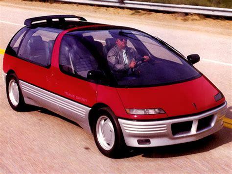 Pontiac Transport Concept by Pontiac Trans Sport Concept 1986 Concept Cars