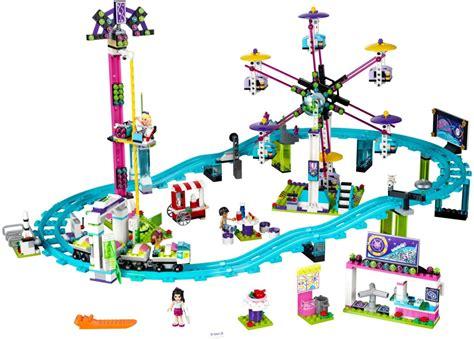 Lego Friends Park 5 new lego friends amusement park sets brick digest