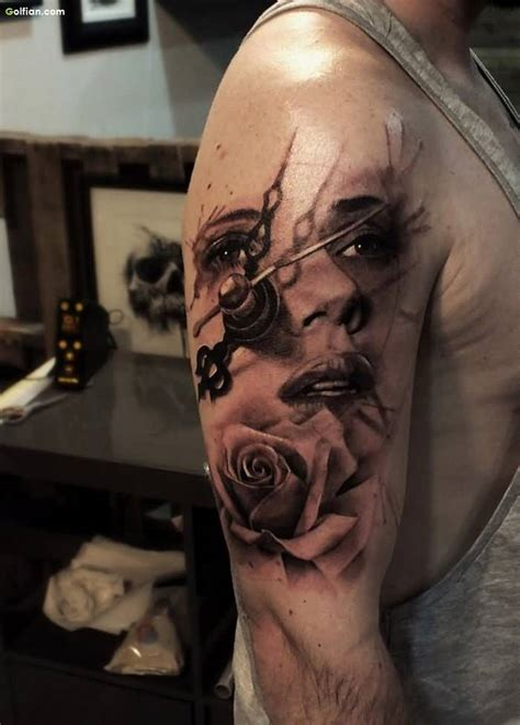 tattoos for men on face 60 awesome arm images best arm tattoos for