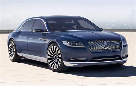 lincoln continental lincoln continental concept concept cars diseno